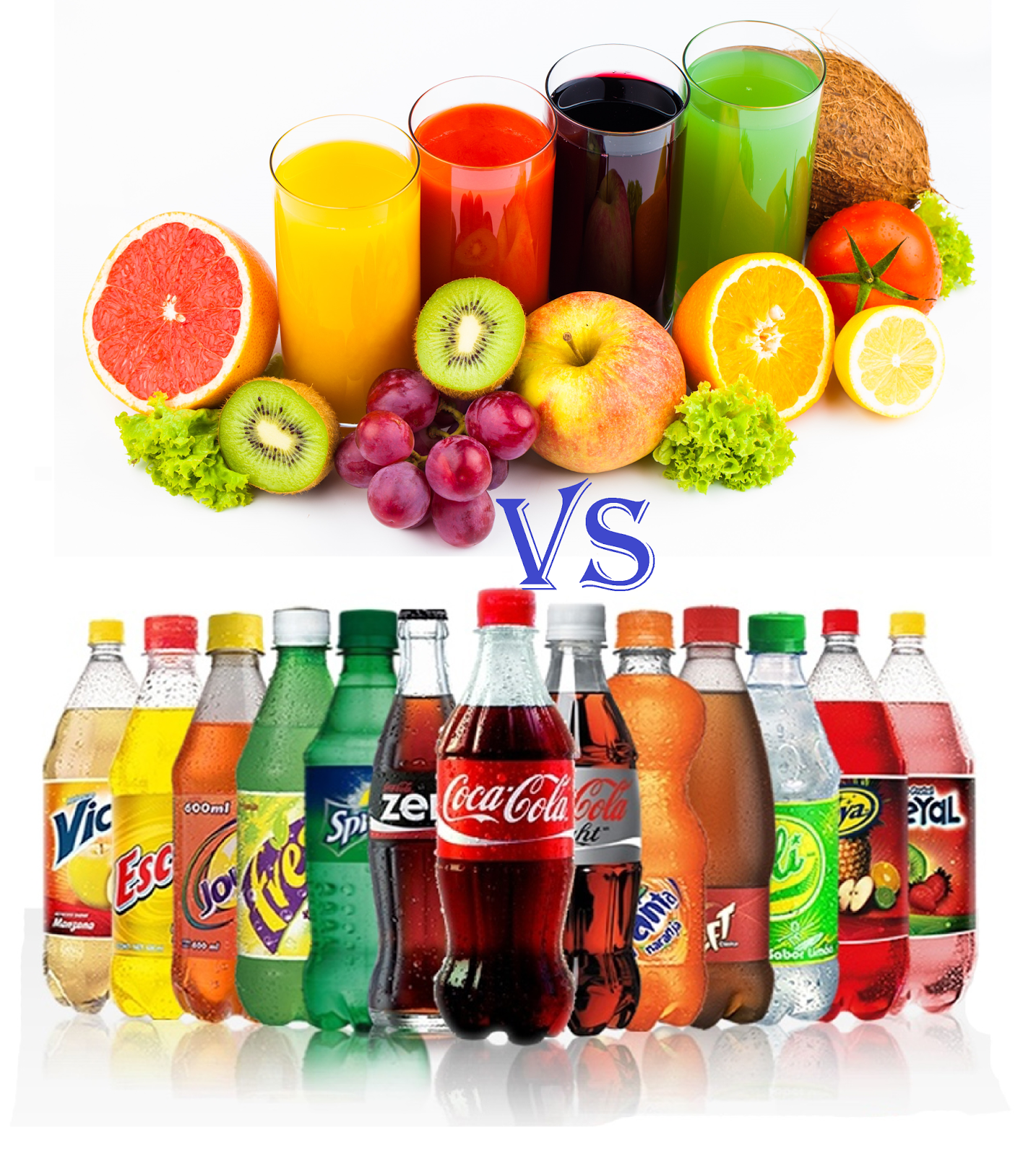 Juices & Soft Drinks
